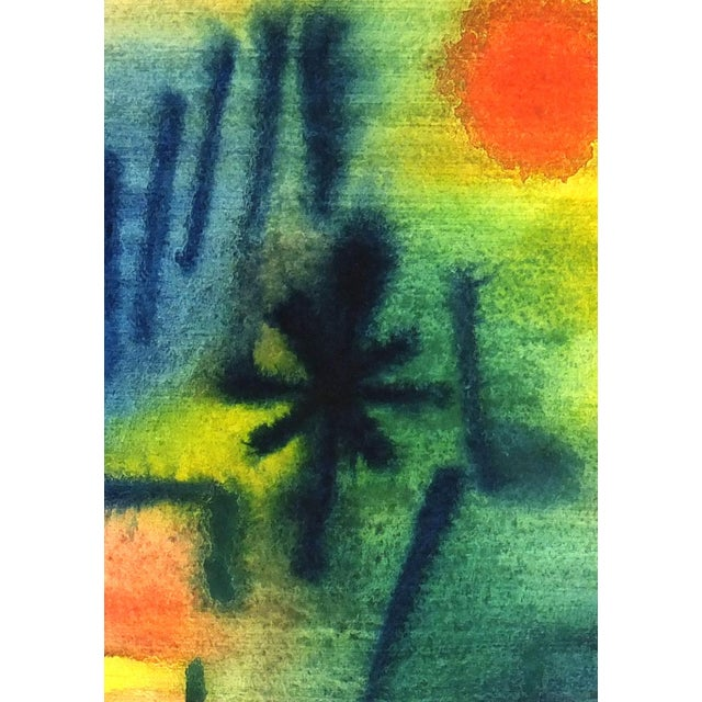 Vintage Abstract Painting, 1976 - Image 3 of 4