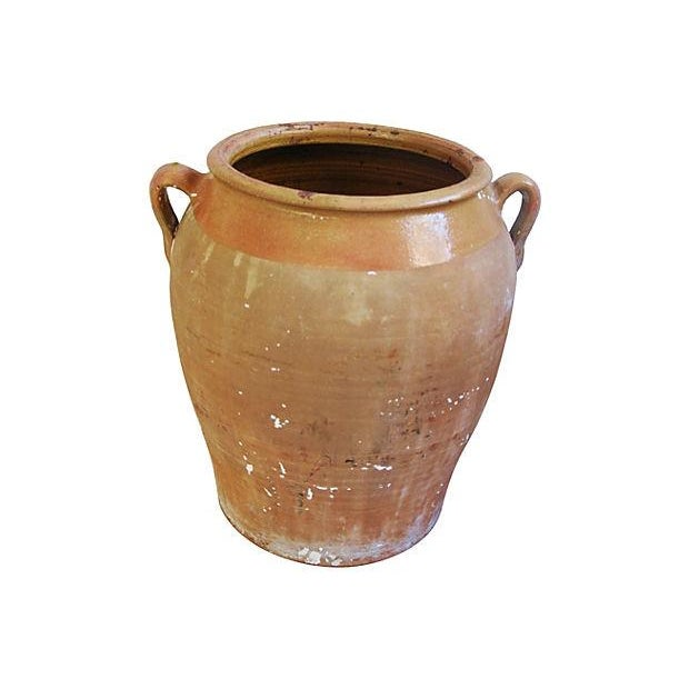 Jumbo Antique French Terracotta Confit Pot - Image 3 of 6