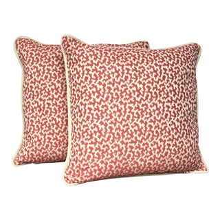 Nina Campbell Throw Pillows - A Pair