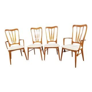 Koefoeds Hornslet Mid-Century Danish Teak Chairs - Set of 4