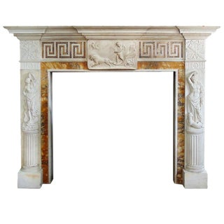 18th Century Fire Place Mantel from Heiress Doris Duke