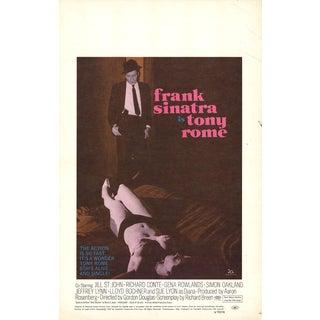 Tony Rome 1967 Poster