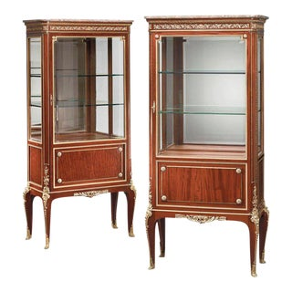 19th Century French Vitrines - A Pair