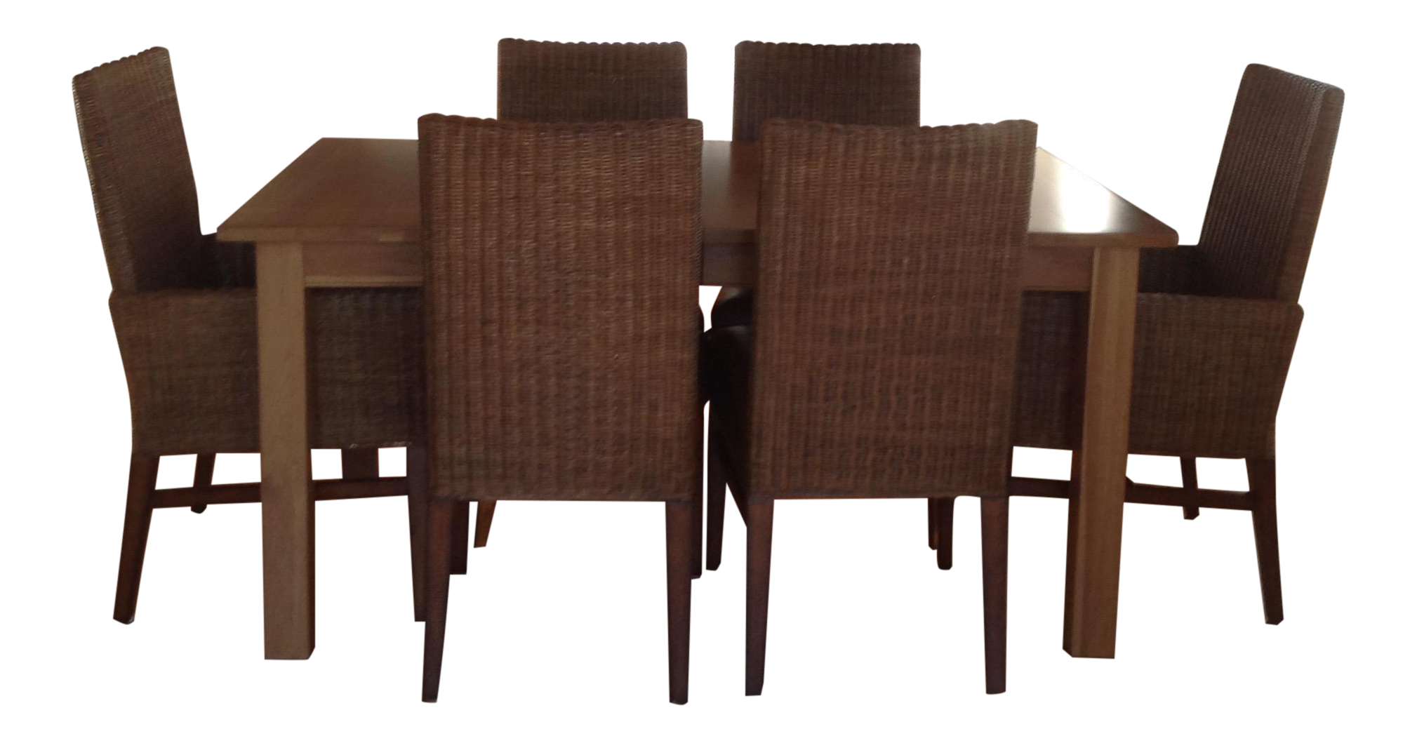 Ethan Allen Parsons Table With 6 Woven Wicker Chairs  : 66c8fcbc 5ec4 4589 95d3 19ef1b922272aspectfitampwidth640ampheight640 from www.chairish.com size 640 x 640 jpeg 24kB