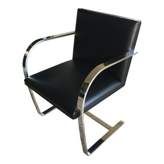 Authentic Ludwig Mies Van Der Rohe Brno Flat Bar Chairs