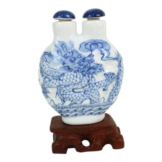 Double Head Porcelain Bottle