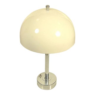 Vintage Mid Century Modern Chrome Table Lamp