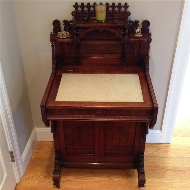 Antique Secretary Desk - Image 3 of 7