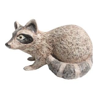Charlotte Shepard Decorative Ceramic Raccoon