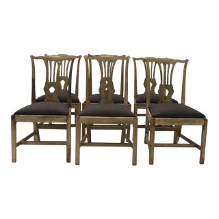 19th Century Chippendale Chairs - Set of 6