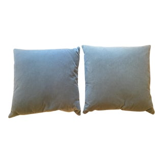 Room and Board Light Grey Pillows - a Pair