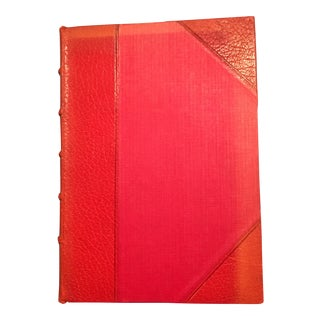 "1901 Booth Tarkington ""Monsieur Beaucaire"" Leather Covered Novel"