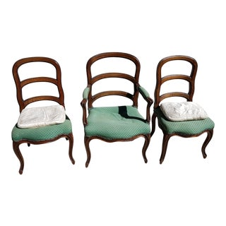 Antique French Louis XV Chairs - Set of 3