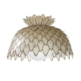 Handmade Pineapple-Shaped Chandelier