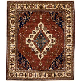 """Ziegler Hand Knotted Area Rug - 8'5"""" X 9'9"""""""