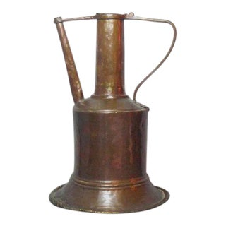 Antique Islamic Copper Water Pitcher