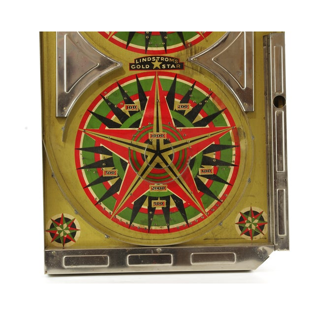 Image of Vintage Pinball Bagatelle Game Board