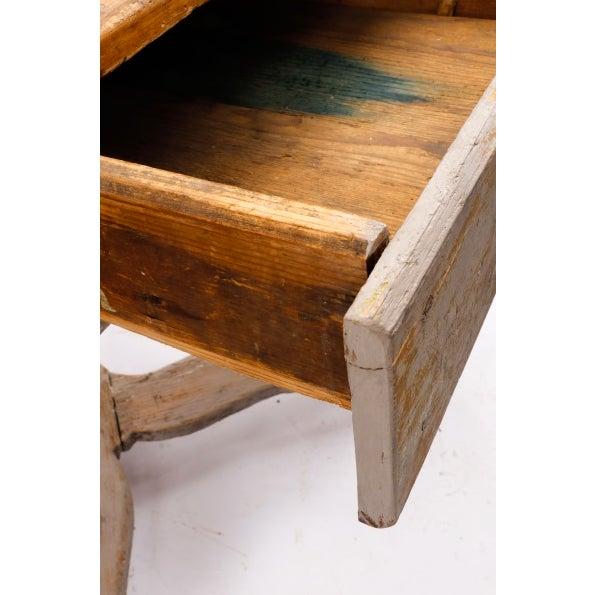 18th Century Gustavian Farm Table - Image 2 of 5