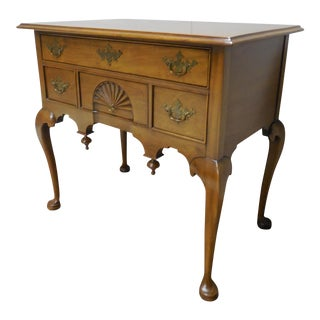 Century Furniture Henry Ford Museum Mahogany Chippendale Style Low Boy Chest