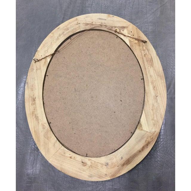 Beveled Black & Gilded Mirror - Image 2 of 8