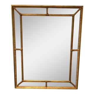 Agostino Gilted Beveled Wall Mirror