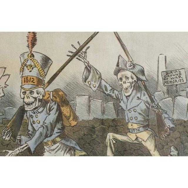 1888 Puck Political Cartoon Chromoliths - A Pair - Image 4 of 9