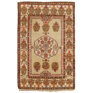 Antique 19th Century Persian Fereghen Rug