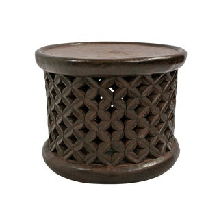 Bamileke African Side Table