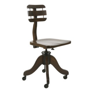 Early 1900s Antique Cook Desk Chair