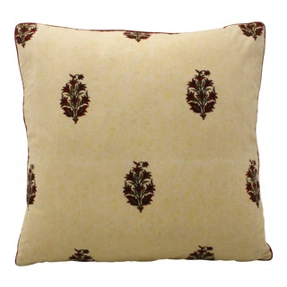 Indian Paisley Pillow