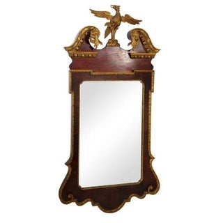 Late 19th Century Chippendale-Style Mirror