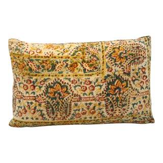 Indian Block Print Bolster Pillow