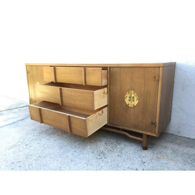 Mid-Century Solid Wood Dresser - Image 7 of 11