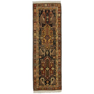 "RugsinDallas Hand-Knotted Wool Turkish Runner - 2'9"" X 8'5"""