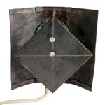 Image of Reclaimed Copper & Glass Wall Sconce