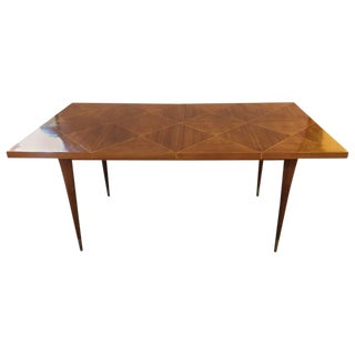 Tommi Parzinger Dining Table with Two Leaves