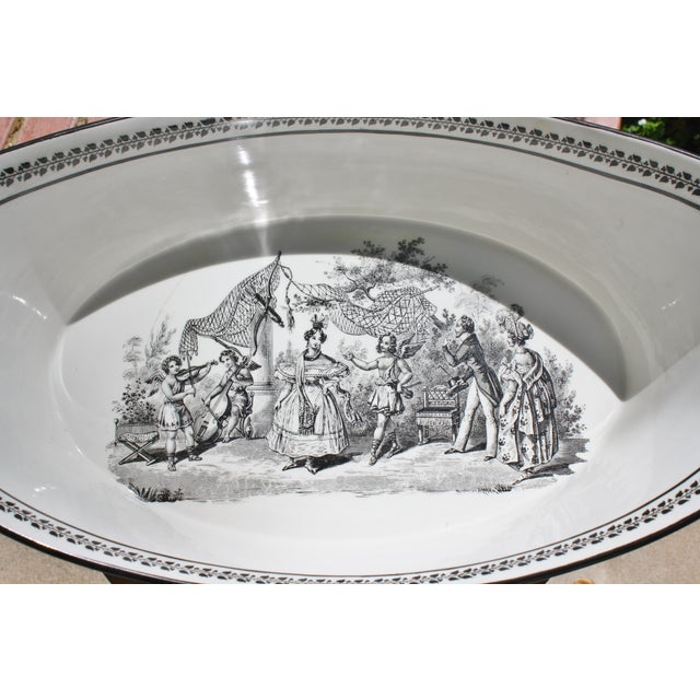 Vintage Toile Mottahedeh Tureen - Image 4 of 7