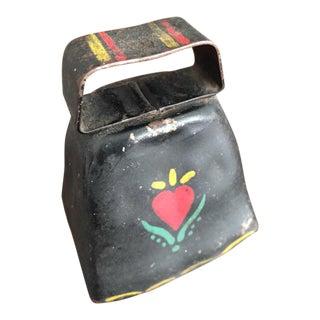 Pennsylvania Dutch Painted Tin Bell