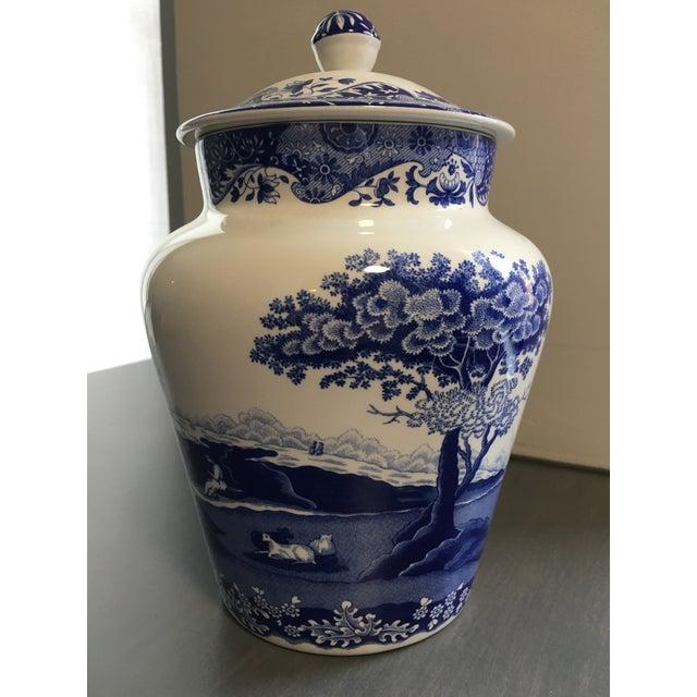 Spode Blue & White Ginger Jar - Image 4 of 4