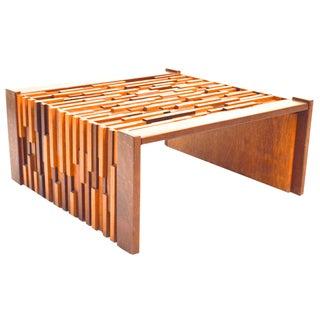 Percival Lafer Brazilian Wood Coffee Table