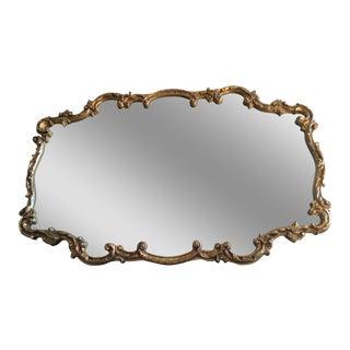 Vintage Gilt Carved Mirror