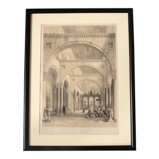 Hollywood Regency Revival Set 3 Italian Architectural Etchings