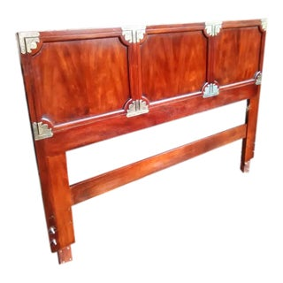 1970s James Mont for Henredon Queen Headboard