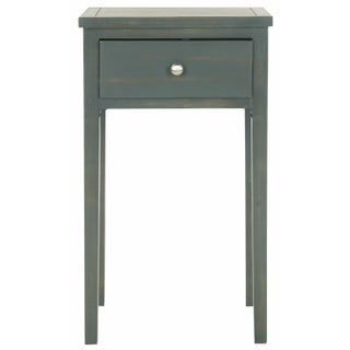 Craftsman End Table with Dark Teal Finish