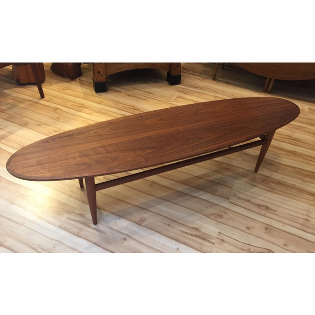 Heritage Mid-Century Surfboard Coffee Table