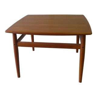 Grete Jalk Mid Century Modern Teak Side Table