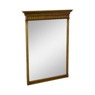 Vintage Federal Style Gilt Frame Wall Mirror
