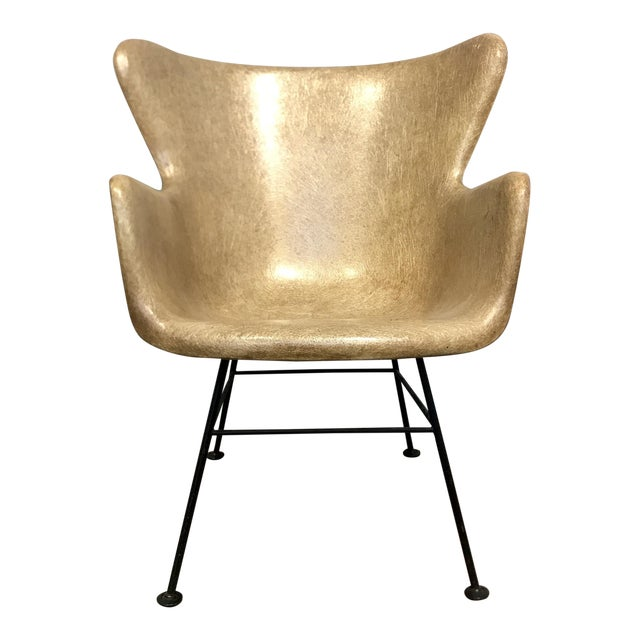Selig Fiberglass Wingback Chair - Image 1 of 6