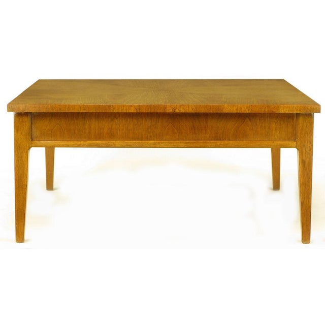 Michael Taylor For Baker New World Mahogany Coffee Table - Image 2 of 8