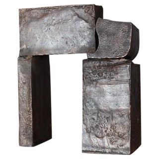"Bronze Sculpture ""Gate"" by Dina Recanati"
